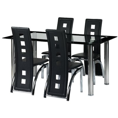 All Home Normandy Dining Table and 4 Chairs