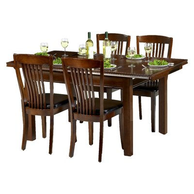 All Home Plymouth Extendable Dining Table and 4 Chairs