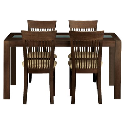 All Home Rafael Dining Table and 4 Chairs