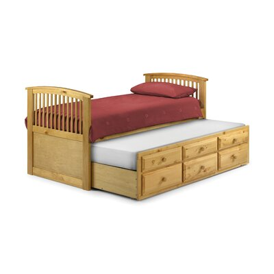 All Home Horatio Single Guest Bed with Trundle