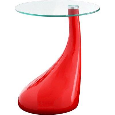 All Home Modern Pedestal Side Table