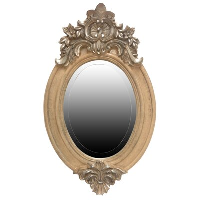 All Home French Style Oval Mirror