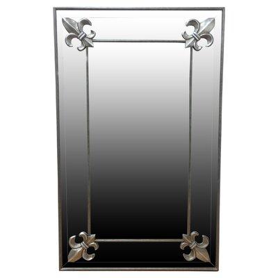 All Home Fleur De Lys Mirror