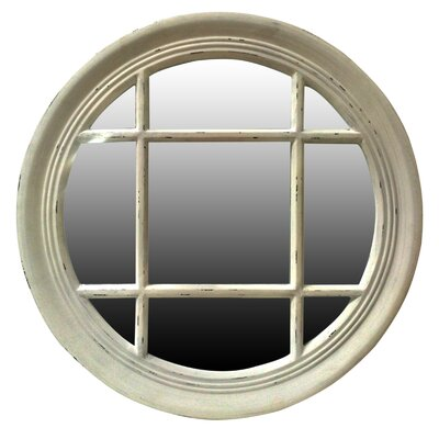 All Home Round Window Mirror