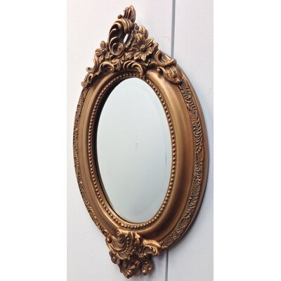 All Home French Style Small Oval Mirror