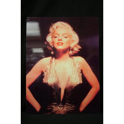 All Home Marilyn Tin Sign Photographic Print Plaque