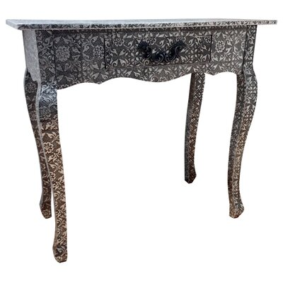All Home Repousse Console Table