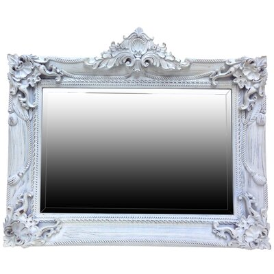 All Home French Style Overmantle Mirror