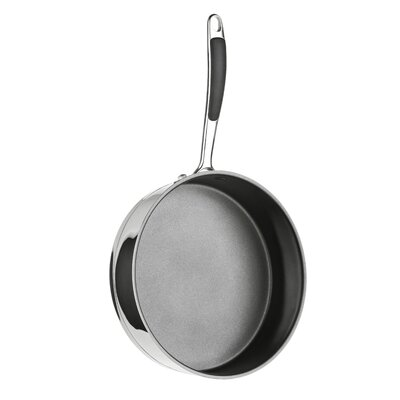 All Home 26cm Non-Stick Frying Pan with Lid