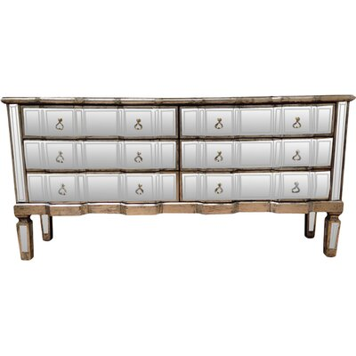 All Home Line 6 Drawer Sideboard