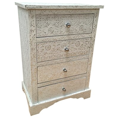 All Home Marquises 4 Drawer Chest of Drawers