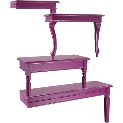 All Home 5 Piece Accent Shelf Unit