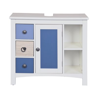 All Home Knuckles 3 Drawer Cabinet