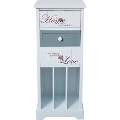 All Home Kirigamine 3 Drawer Chest