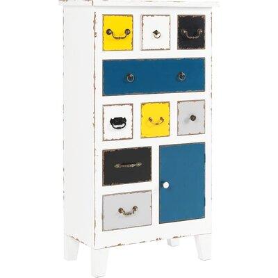 All Home JabalBilAys 9 Drawer Cabinet