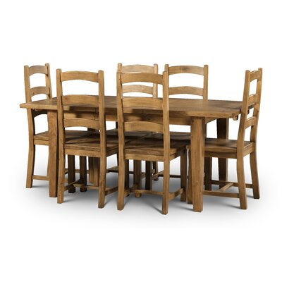 All Home Southhampton Extendable Dining Table and 6 Chairs