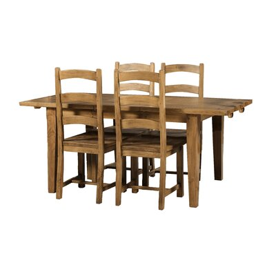 All Home Southhampton Extendable Dining Table and 4 Chairs