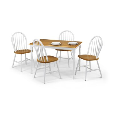 All Home Nora Dining Table and 4 Chairs