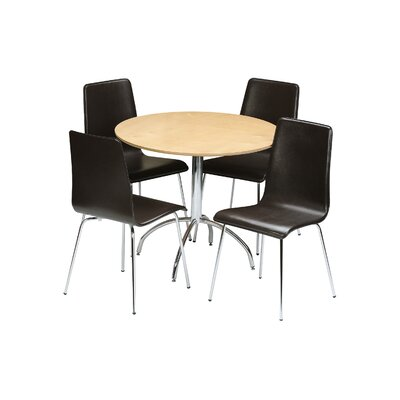 All Home Rosa Dining Table and 4 Chairs