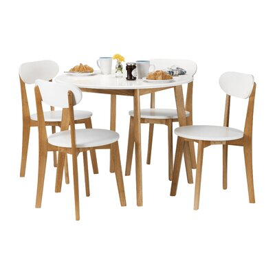 All Home Brittany Dining Table and 4 Chairs