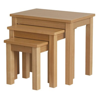 All Home Willowdale Burnley 3-Piece Nesting Table Set