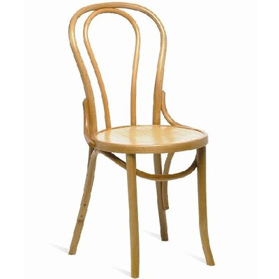 All Home Lottie Hoop Solid Beech Dining Chair