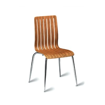 All Home Cindy Armless Stacking Chair