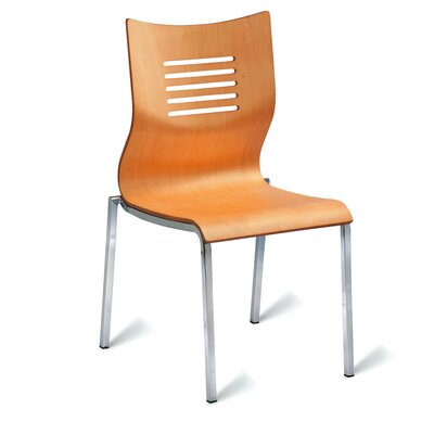 All Home Tulsk Armless Stacking Chair