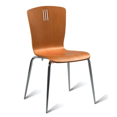 All Home Tilly Armless Stacking Chair