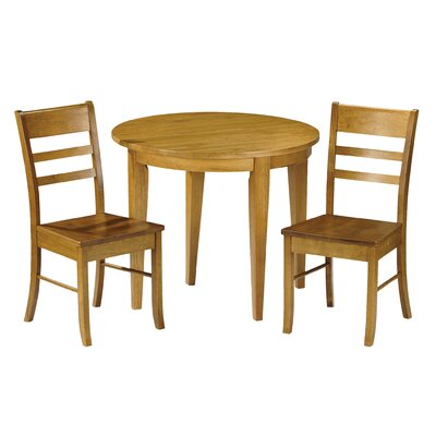 All Home Dartford Extendable Dining Table and 2 Chairs