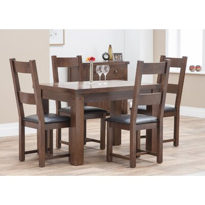 All Home Harvard Dining Table and 4 Chairs