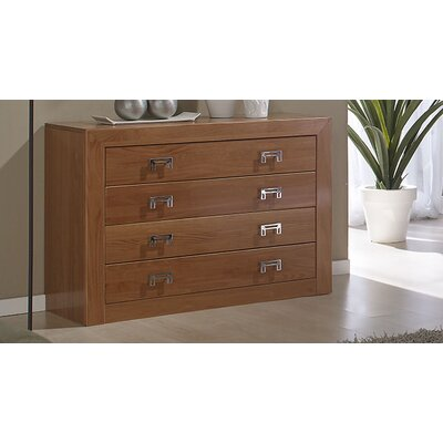 All Home Mona 5 Drawer Chest of Drawers