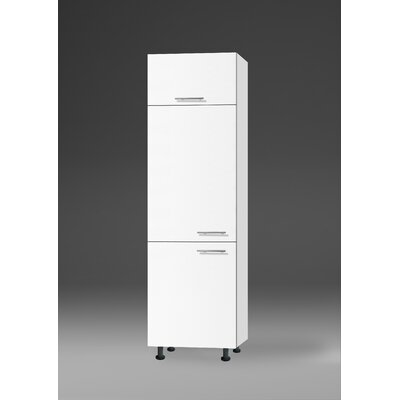 All Home Merida 210 cm Tall Unit for integrated Refrigerator