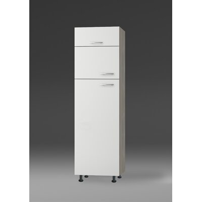 All Home Vallarta 210 cm Tall Unit for integrated Fridge-/Freezer-combination