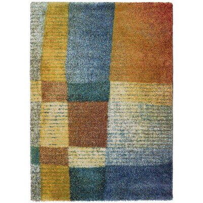All Home Myles Brown/Blue Area Rug