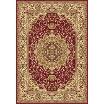 All Home Aria Red Area Rug