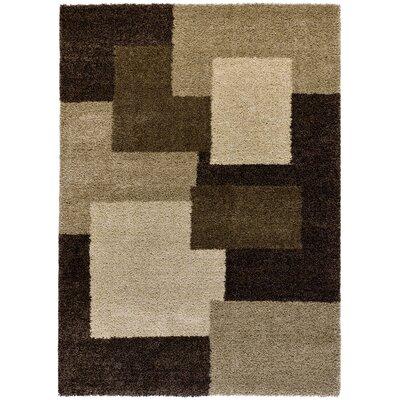 All Home Tribal Brown/Beige Area Rug