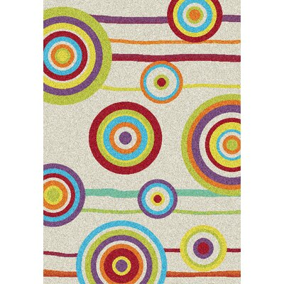 All Home Clara White Area Rug
