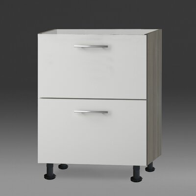 All Home Vallarta Base Unit with 2 Metal Pull-outs