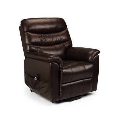 All Home Aberdeen Leather Dual Motor Rise Recliner