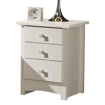 All Home Broadshade Night Stand with 3 Drawers