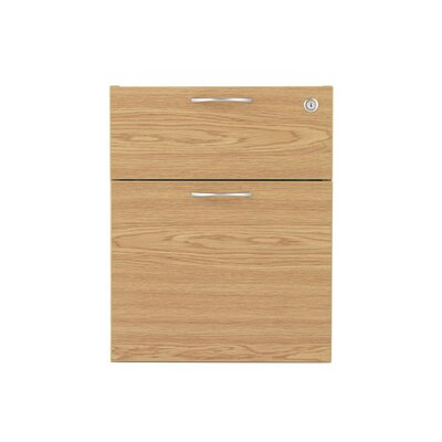 All Home 2 Drawer Mobile Cabinet