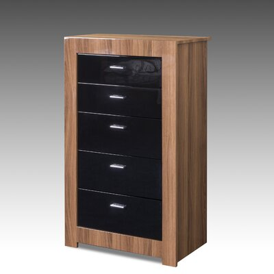 All Home Louise 5 Drawer Chest of Drawers