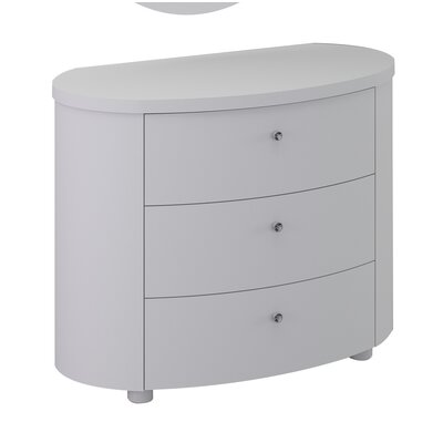 All Home Lillian 3 Drawer Chest of Drawers
