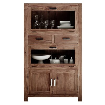 All Home Lia Solid Wood China Cabinet