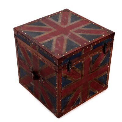 All Home British Flag Trunk