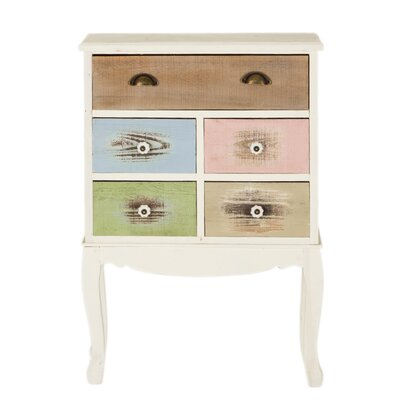 All Home Rhodes 5 Drawer Chest