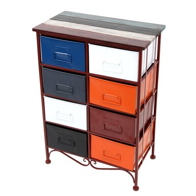 All Home 8 Drawer Chest