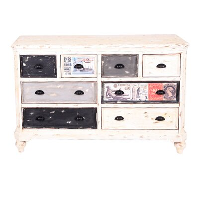 All Home Siena 8 Drawer Chest