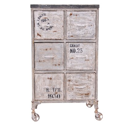 All Home Mesilla 6 Drawer Chest
